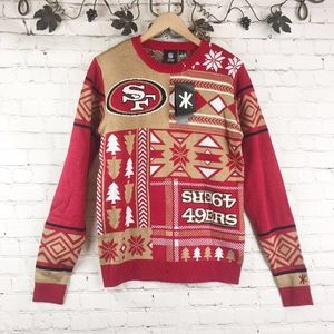 NFL 49er Christmas Sweater